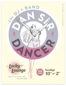 Dylan Goodhue Dan Sir Dancer poster