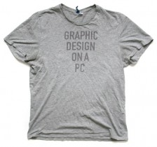 Graphic Design on a PC tshirt