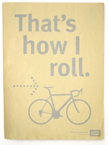 That's How I Roll print