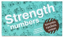 Toronto Cyclist's Union business card