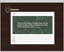 Beacon website