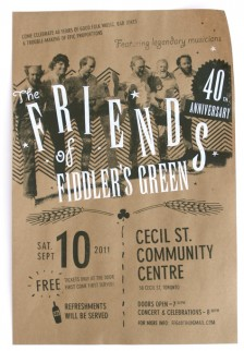 Friends of Fiddler's Green poster