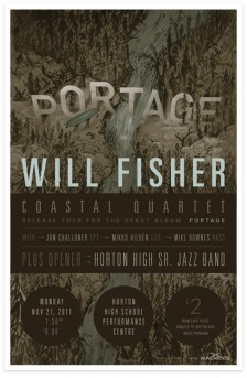 Will Fisher Coastal Quartet poster